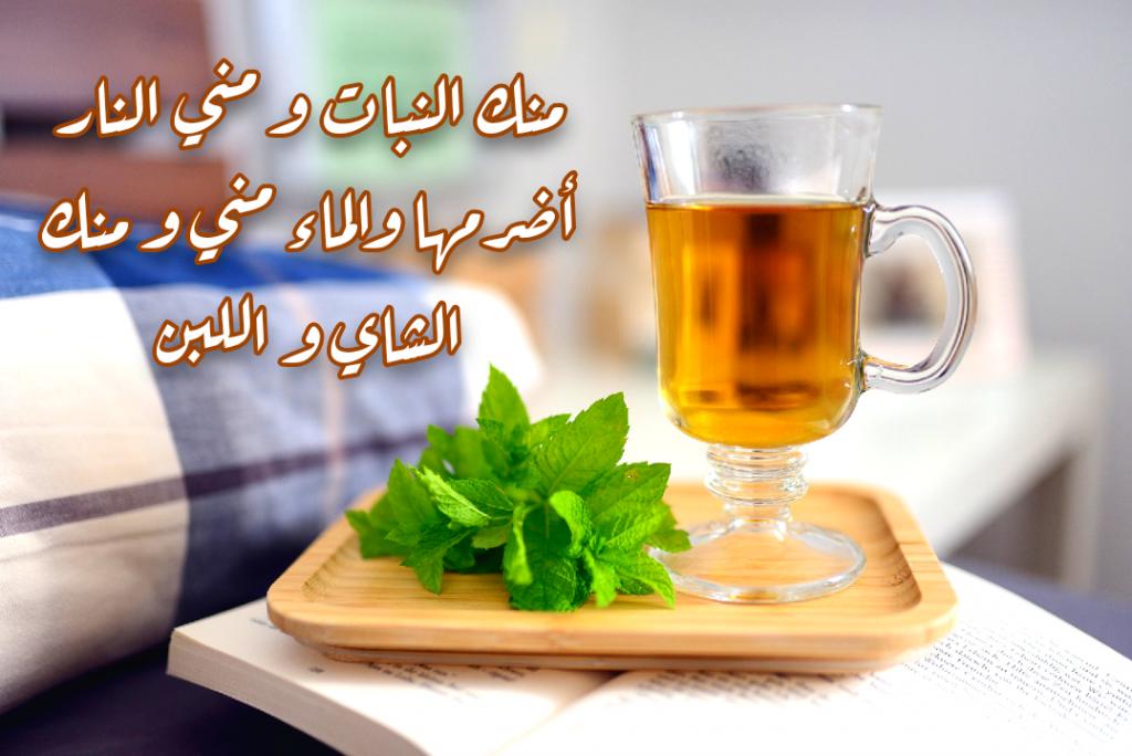 تويتات عن الشاي عبارات جميلة